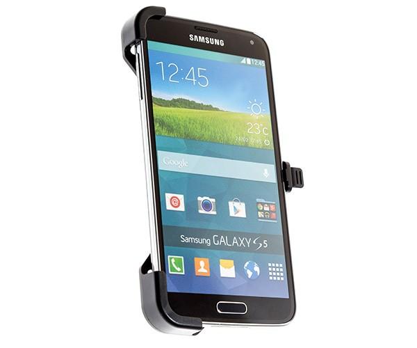 Samsung Glaxy S5 houder met 3 pens aansluiting