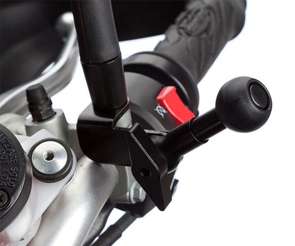 Spiegel Voor Fiets : Xlc spiegel swing fiets verst in stuur mm zwart spiegel xlc