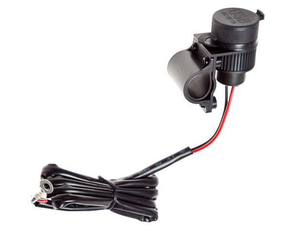 Verwonderlijk 12 Volt lader met 2 USB aansluitingen QK-87