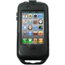 Zwarte iPhone 4 /4S waterproof case Ultimate Add ons
