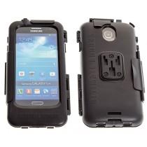 Zwarte waterdichte case voor Samsung Galaxy S4