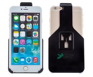 Iphone 6 Plus houder met 3 pens aansluiting