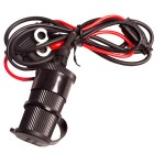 Ultimate Addons 12v Waterproof Oplader met 1 Meter Kabel QF-3468